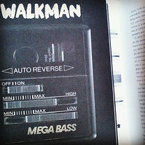 """Sony Walkman 1978 One of the first personalized products, both fashion accessory and functional object (from the book """"20th century Design"""" C. MCdermott. Carlton )"""