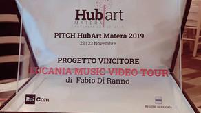 Fabio Di Ranno con il progetto LMVT premiato a Matera