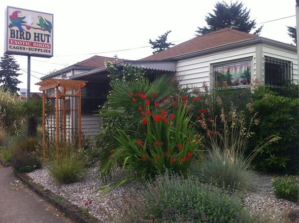 Bird Hut exotic birds,Portland bird supplies,location
