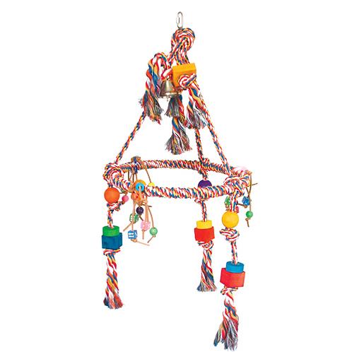 Rope Pyramid Swing