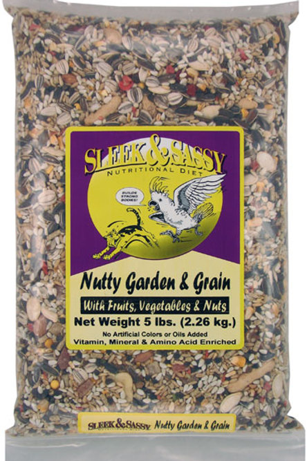 Nutty Garden & Grain 4 lb.
