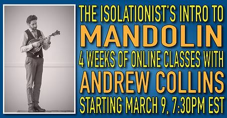 Isolationist's INTRO TO MANDOLIN faceboo