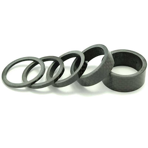 "1"" RACE-Lite Carbon Fiber Headset Spacer Set"