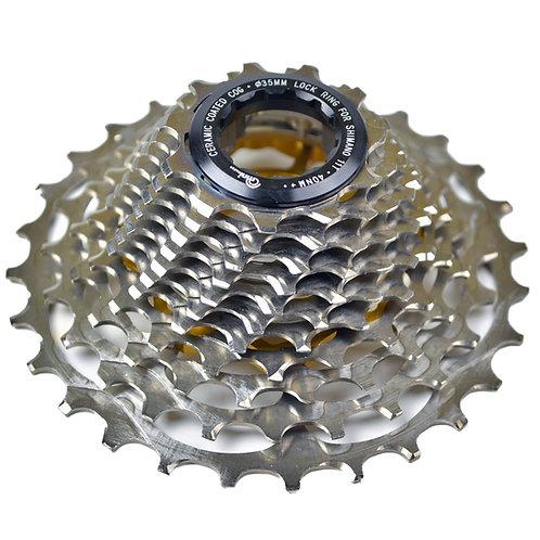 Campagnolo RACE-Lite Titanium Cassette: 12 Speed