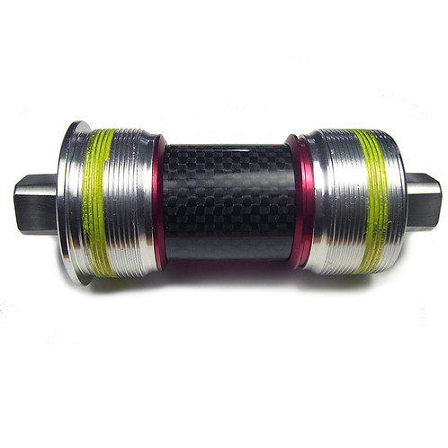 Cromo Steel Ti Ceramic ISO Square Taper Bottom Bracket