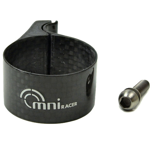 Full Carbon Front Derailleur Adapter Clamp
