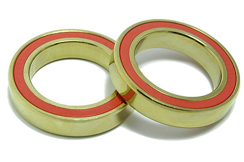 TiN Titanium Ceramic Bottom Bracket Bearings (PAIR)