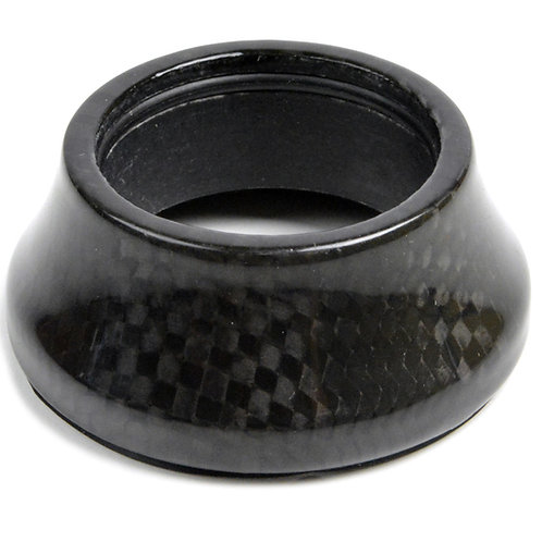 """1 1/8"""" RACE-Lite Full Carbon Integrated Conical Headset Spacer"""