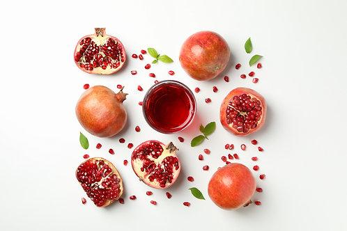 Suplementação de Pomegranate na Saúde Cutânea