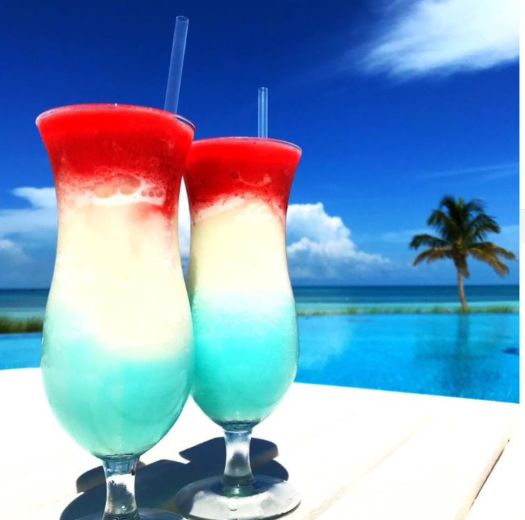 4th of July Poolside Drinks