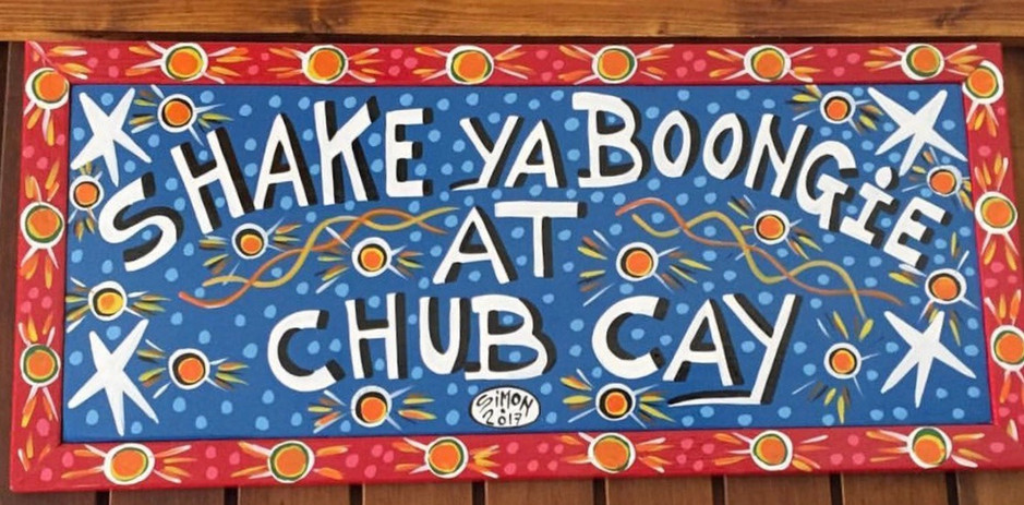 Shake Ya Boongie at Chub Cay Sign_edited