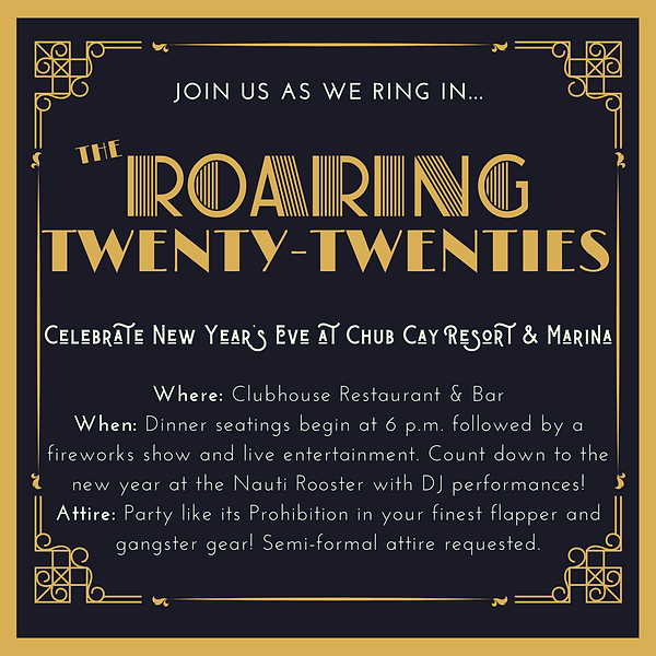 Black and Gold Border 1920s Party Invita