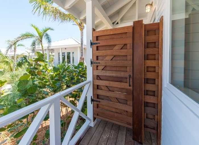 Cabana Outdoor Shower