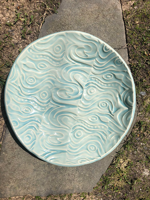 "9""x 9"" Ceramic Plate"