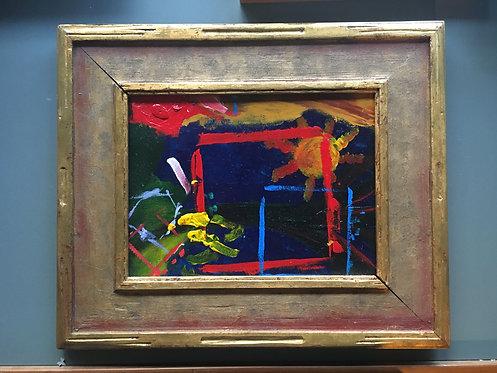 Child's Acrylic Painting