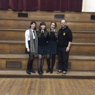 6th Form Public Speaking winners
