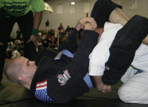 Brazilian Jiu Jitsu, Triangle