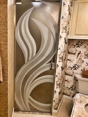 Shower door Vetrilite design