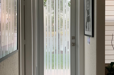 Custom Entryway Door design