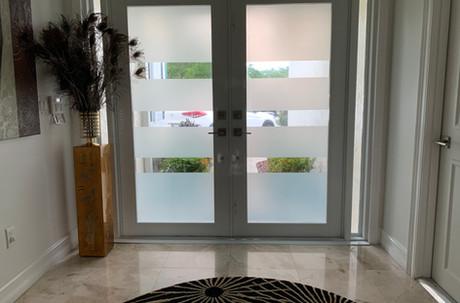 Contemporary Entry Door