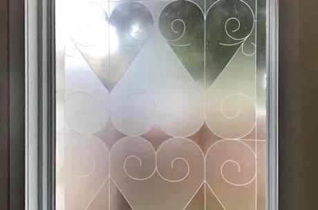 Custom Bathroom Window design