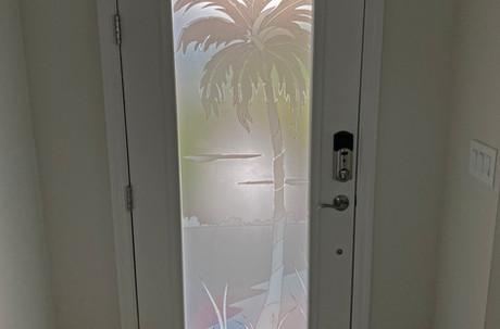 Custom Palm tree design