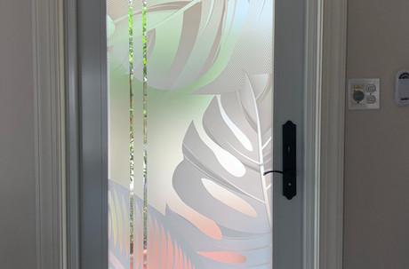 Modern Nature Entryway design
