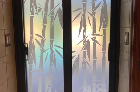 Bamboo Door Design