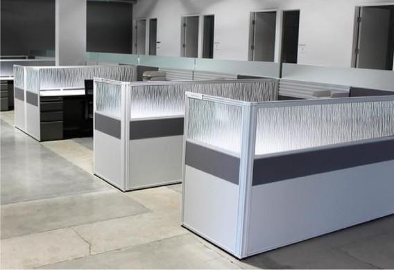 Office Cubical Glass Partition Vetrilite Design