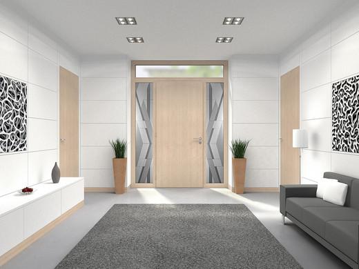 Entryway side light design