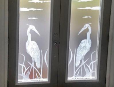 Heron Double Door Design