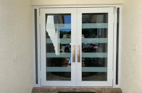 Contemporary Minimalist Entryway Door Design