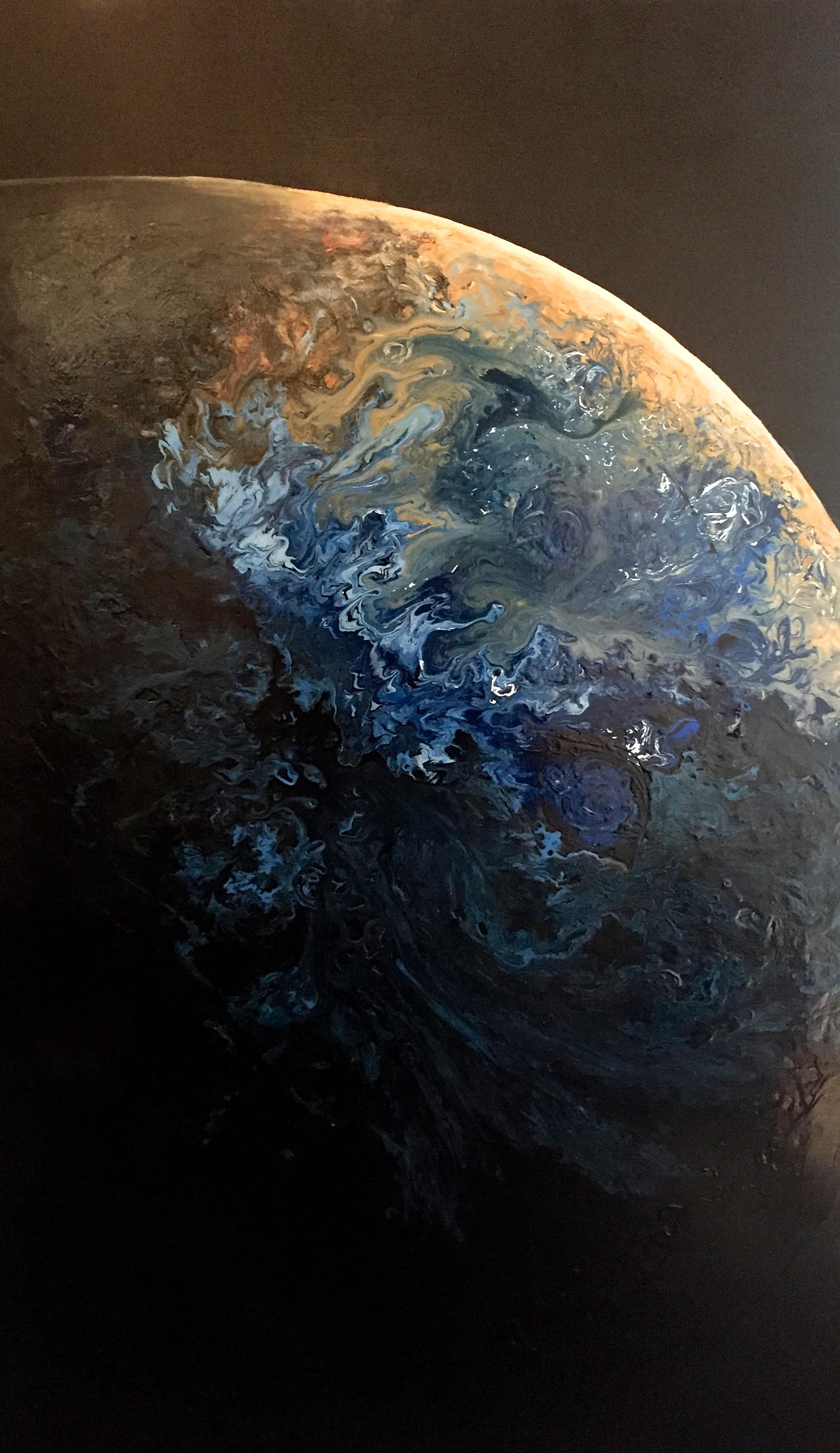 Olicorno ''Kids from Jupiter #8'', acryliques, 60''x36'', 2225$