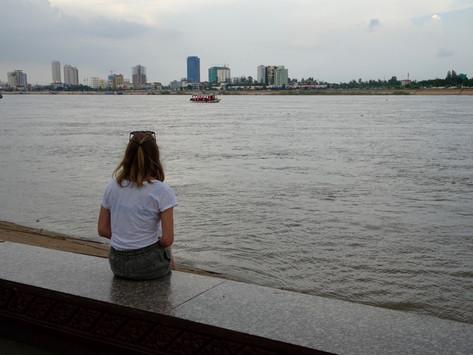 Notre arrivée sur Phnom Penh