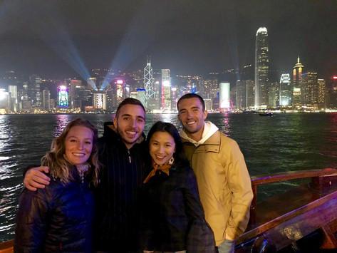 Notre fin d'année à Hong Kong