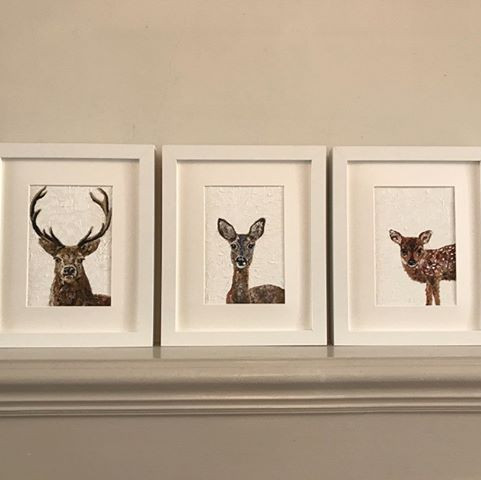 Stag, Roe & Fawn.