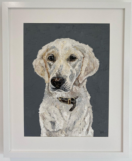 Mabel. Oil on canvas board 30x40cm