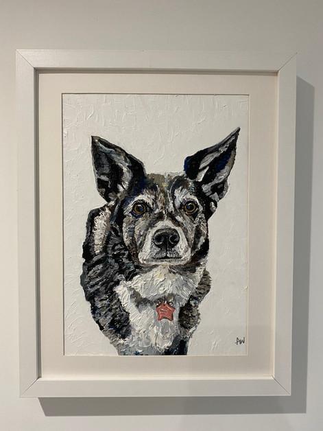 """Jinks. Oil on canvas board 10x12"""""""