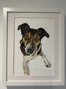 Reggie. Oil on canvas board 30x40cm