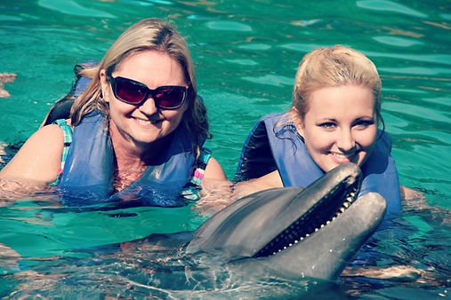 Dolphin Swim in Puerto Vallarta, MX