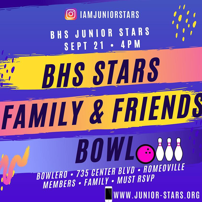 BHS Junior Stars Family & Friends Bowl!