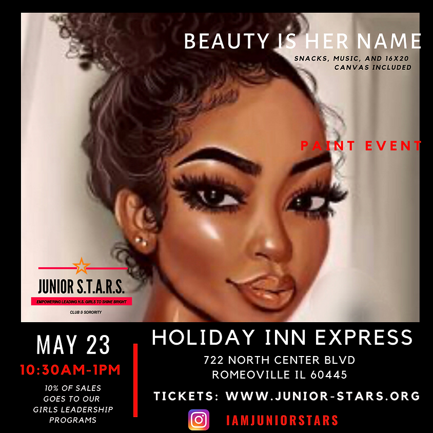 Beauty is Her Name Paint Party