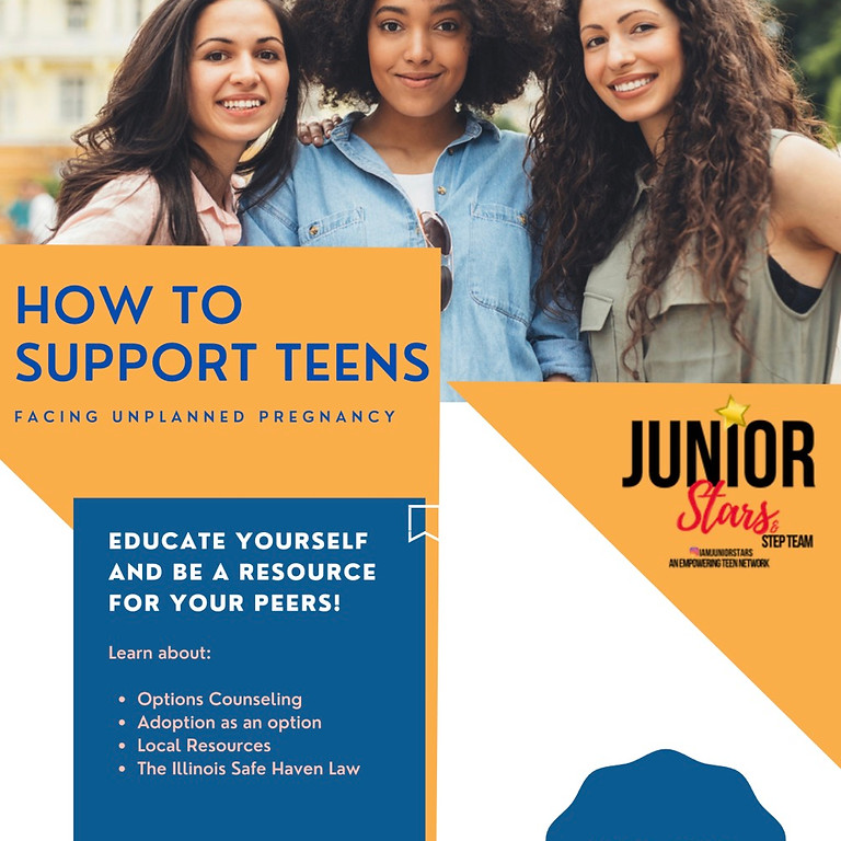 Teen options of support for unplanned