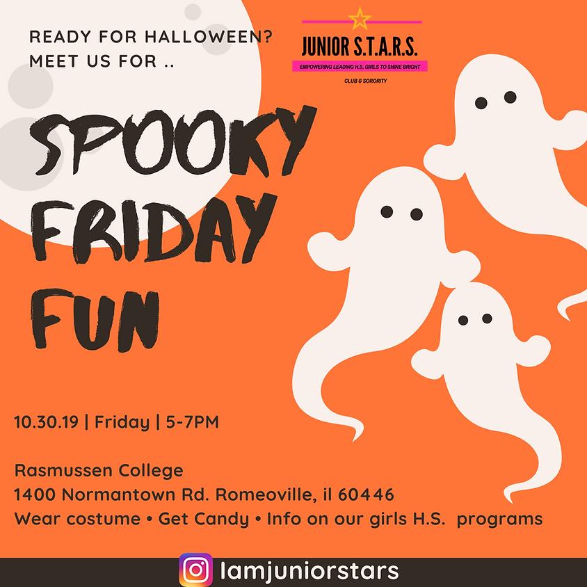 Spooky Friday Fun for halloween