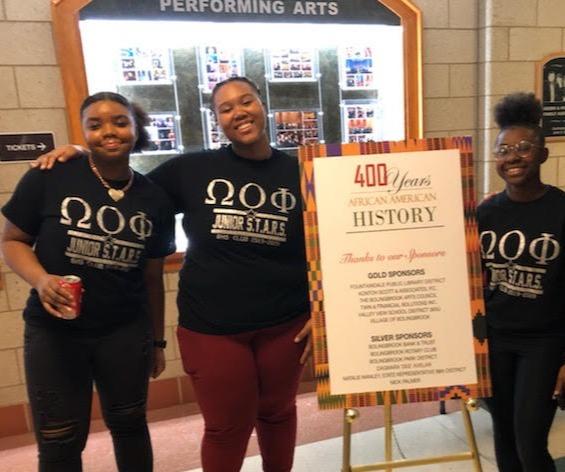 Black history step team shirts