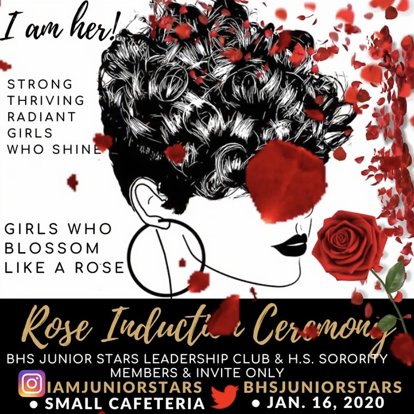 Rose Induction Ceremony (Invite & Members)