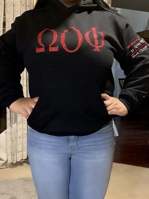 DUO sorority & club hoodie