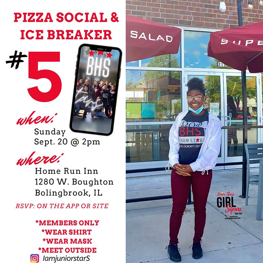 #5 🍕 Pizza Social & Ice Breaker