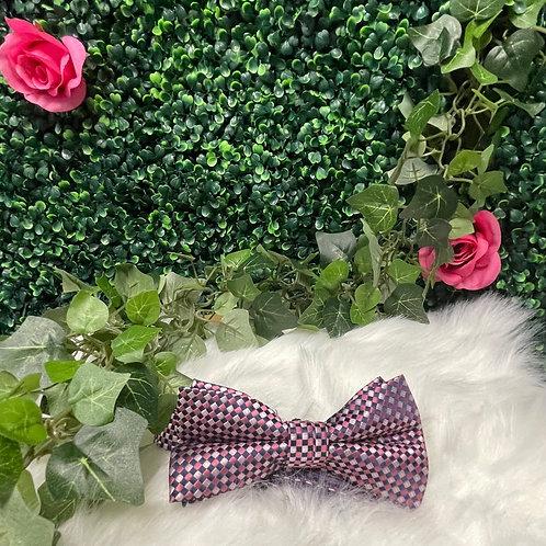 Men Pink Bow Tie