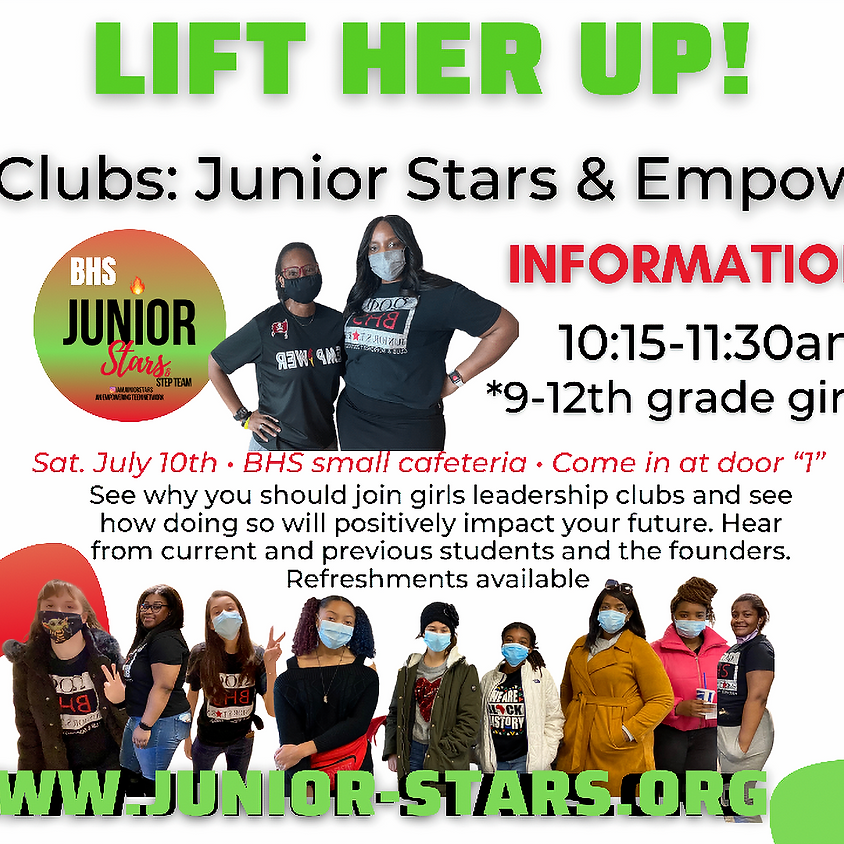 Lift Her Up Informational